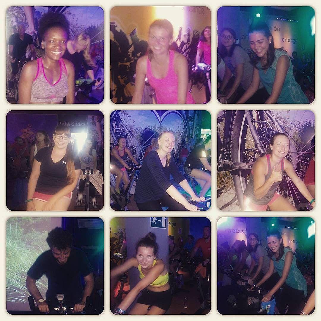 [esnhuelva] People at spinning! …