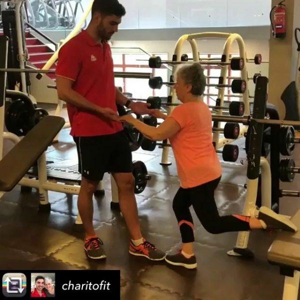 [o2cwmanuelbecerra] Charo y @fitness.japaricio ¡La pareja perfecta! ¡Nos encanta compartir