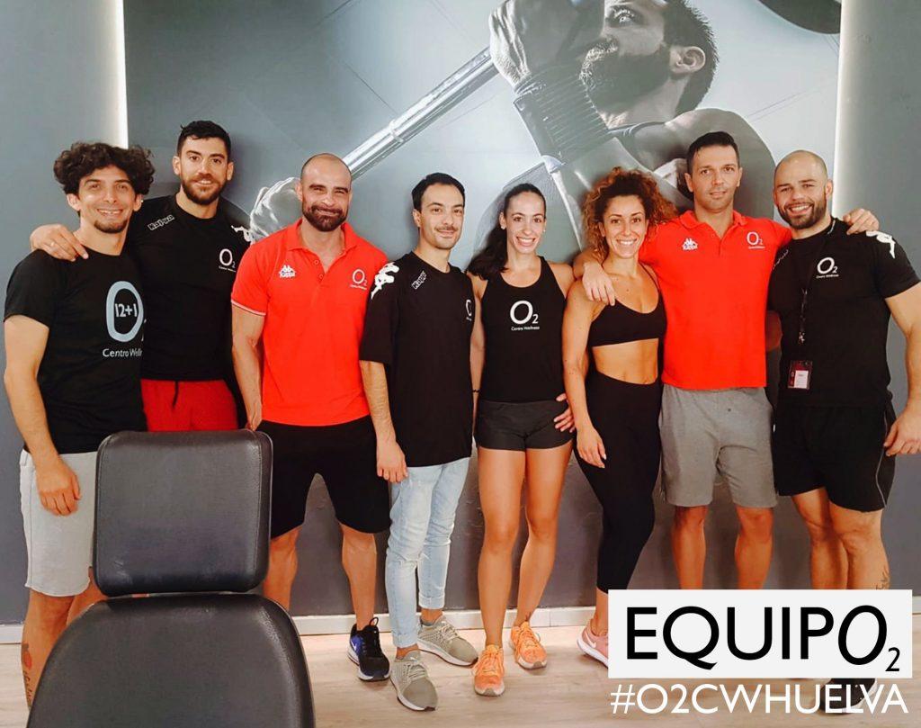 EQUIPO2 O2 Centro Wellness Huelva - Gimnasio - Spa - Piscinas - Entrenamiento
