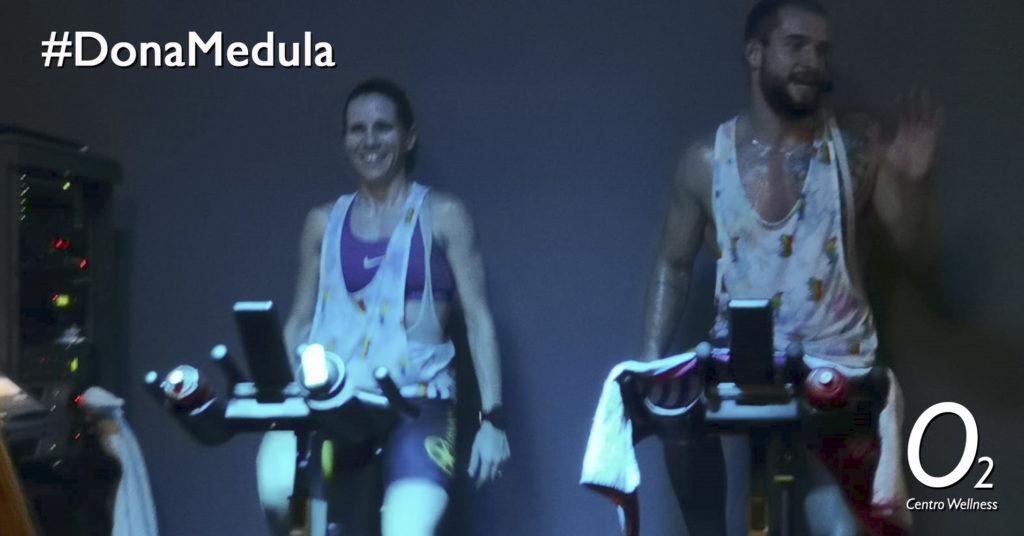 ¡Dona médula, Dona Vida! Masterclass ciclo fitness
