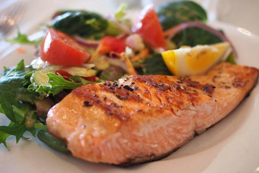 Propiedades del salmón para adelgazar
